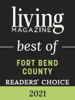 Living Magazine best of Fort Bend County readers choice 2021