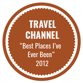 Travel Channel 'Best places I've ever been' 2012