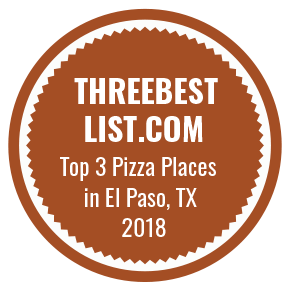 ThreebestList.com Top 3 Pizza Places in El Paso TX 2018
